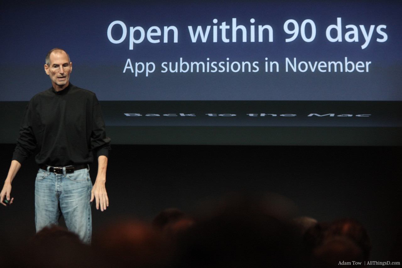 Developers can submit apps in November.