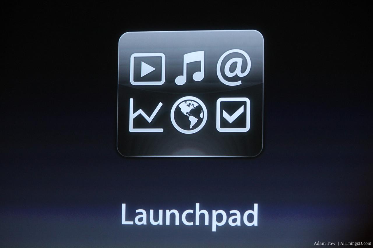 Launchpad.