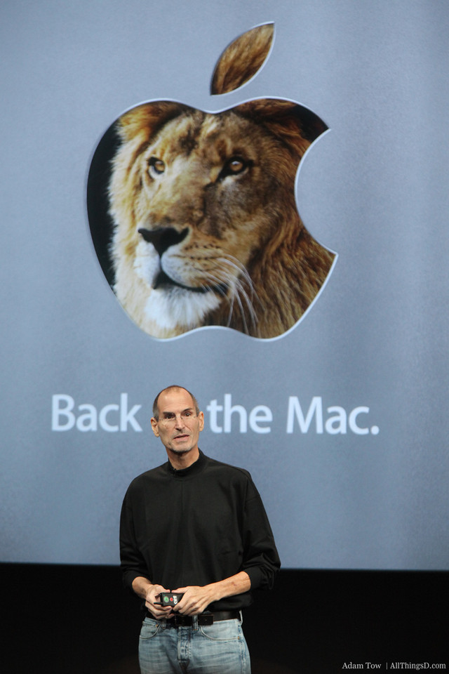 Steve concludes the Back to the Mac event.