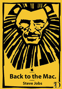 Is Steve Jobs the Lion King? Will he preside over the Back to the Mac event at Apple on October 20, 2010?