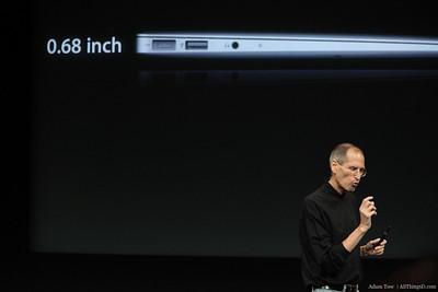 Very thin.