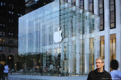 Tim Cook goes over some Apple Store numbers.