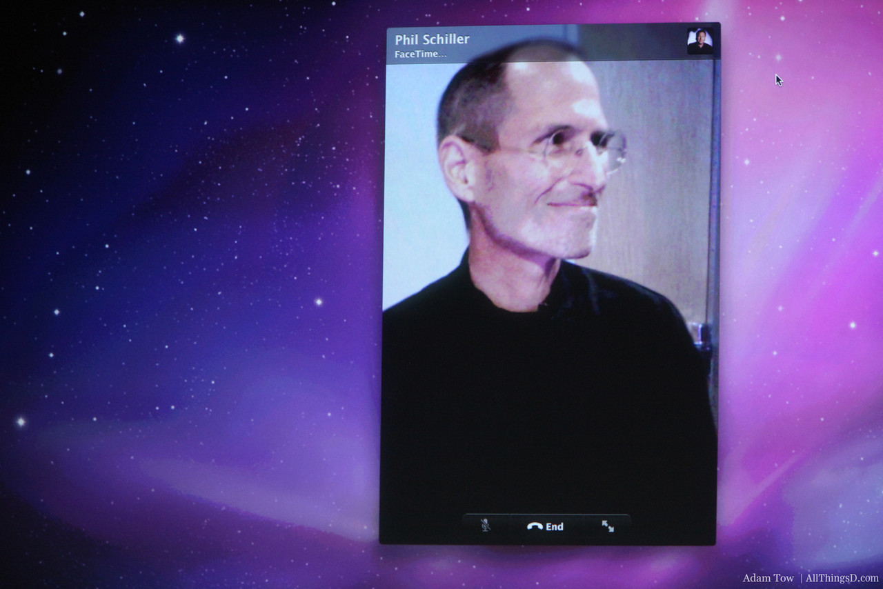 Steve gives a call to Phil Schiller.