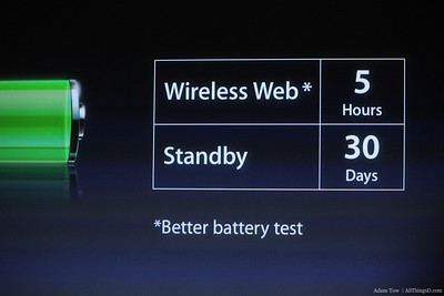 Battery life on the 11.6 inch MacBook Air.
