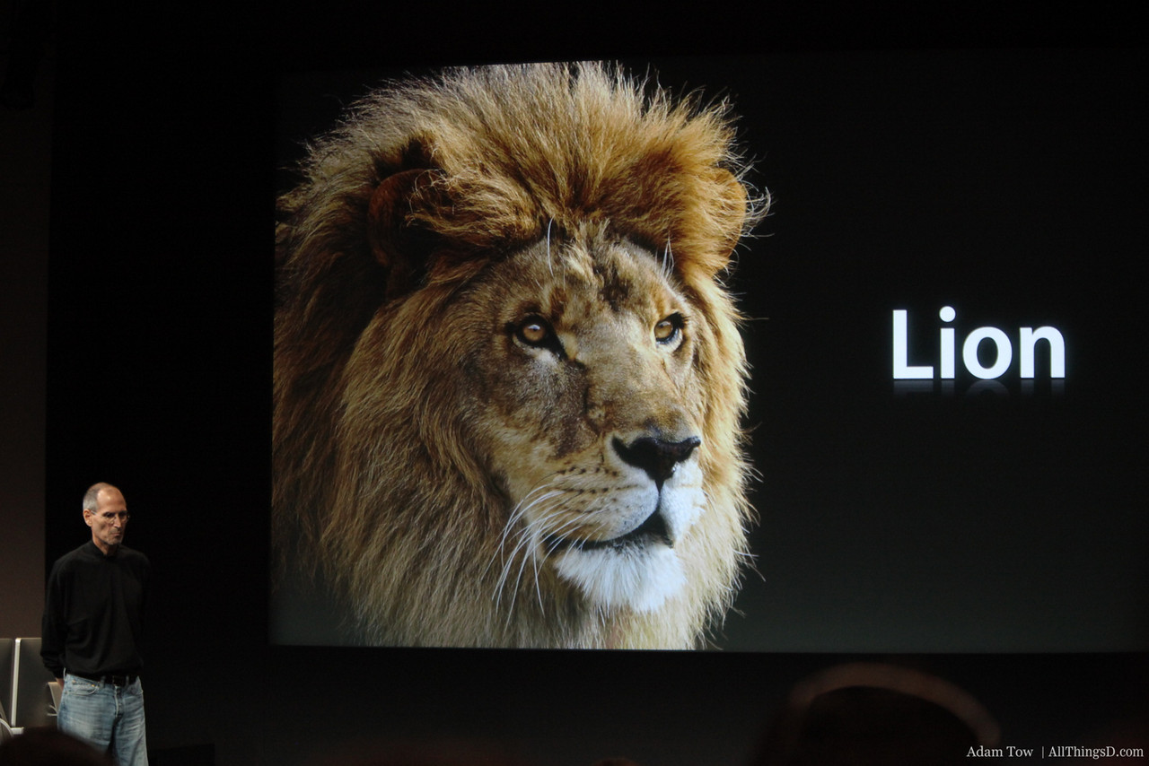 The next Mac OS X will be called Lion.