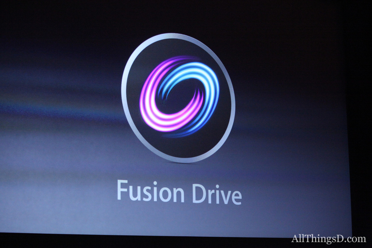 Both the new iMac and the new Mac mini are equipped with a new data management technology: Fusion Drive.