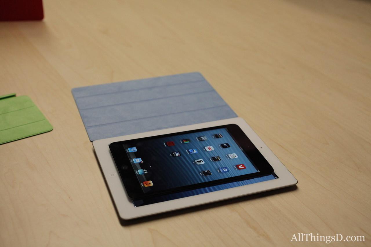 And on to the iPad and iPad mini!