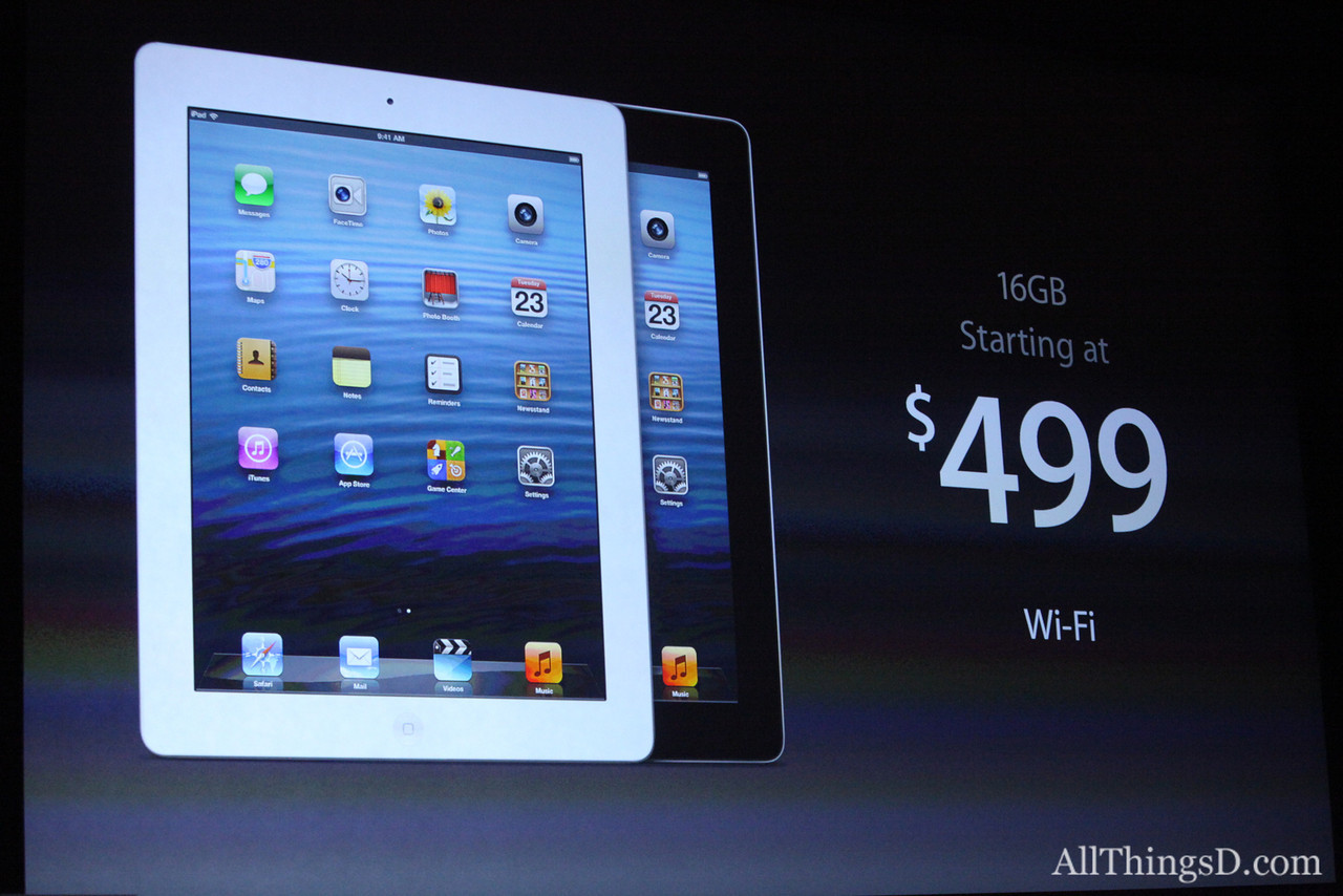 "Phil Schiller returned to introduce the 4th-generation iPad, with a faster ""powerhouse"" processor."