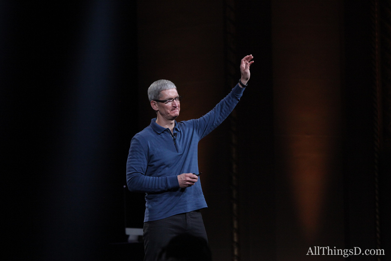 "Cook closed with a tribute to Apple employees: ""These are the most talented and innovative people I know and it is a privilege to work with them."""
