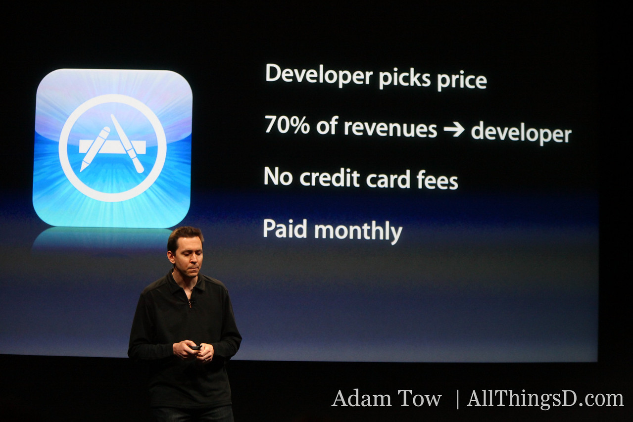 "iPhone 3.0 will support ""in-app"" purchases."""