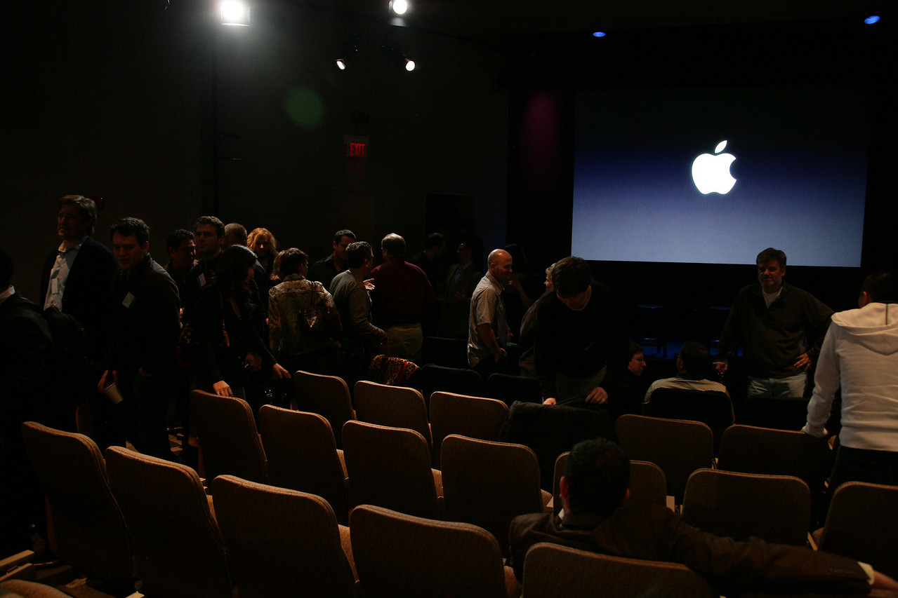 Apple's Town Hall following the event.