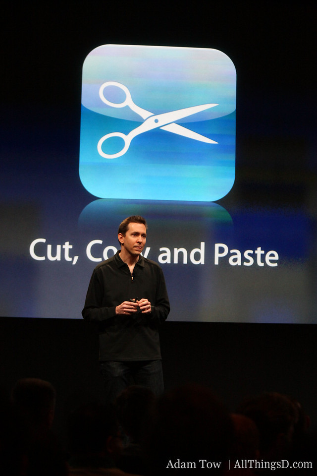 The addition of Cut, Copy and Paste to the iPhone's repertoire gets a lot of applause.
