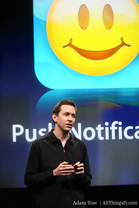 Scott Forstall explains why push notifications have taken so long to come to the iPhone.