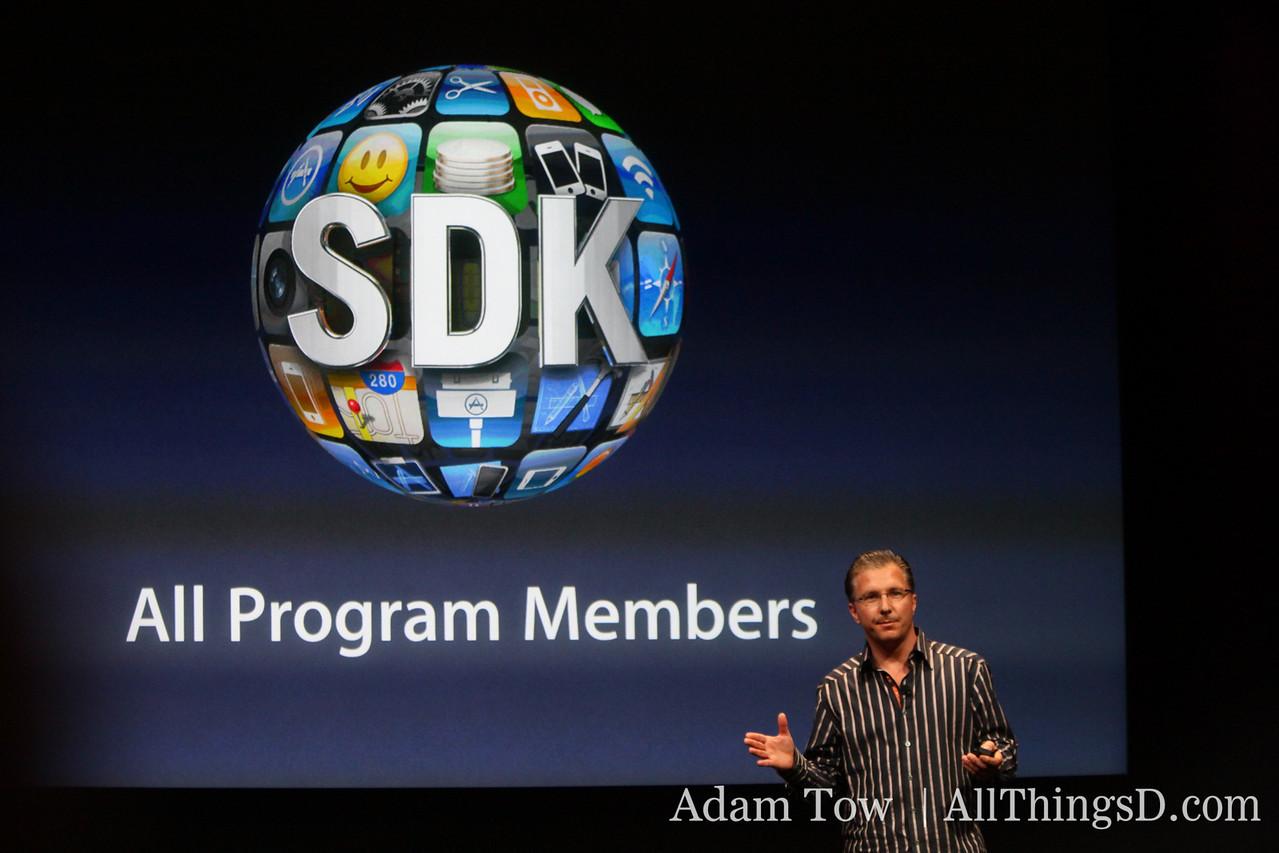 SDK free today to all program members.