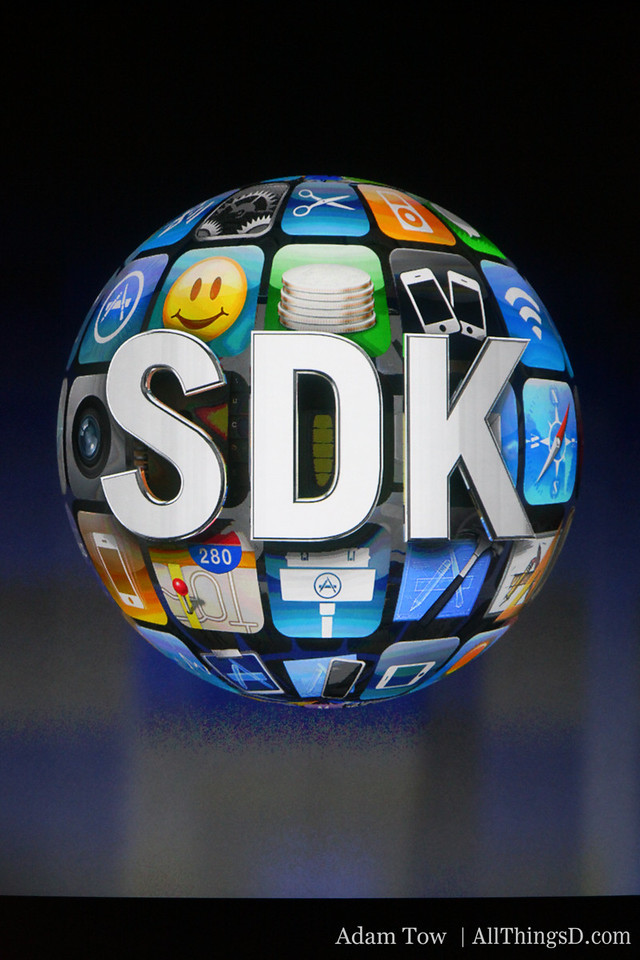So it's making the SDK even better.