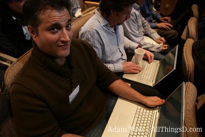 AllThingsD's John Paczkowski, ready to liveblog the event.