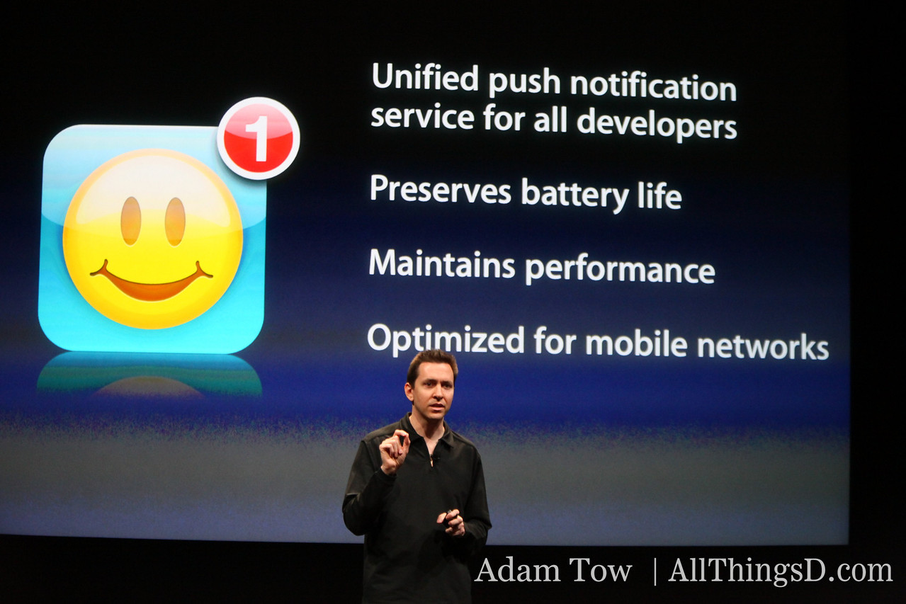 Some highlights of the new push notification service.