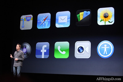 Other iOS 6 features include Facebook integration and, carrier permitting, the ability to make FaceTime video calls over cellular.