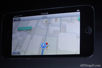 iOS 6 drops Google Maps for Apple, but builds in voice-guided turn-by-turn directions (as Android and Windows Phone have offered previously).