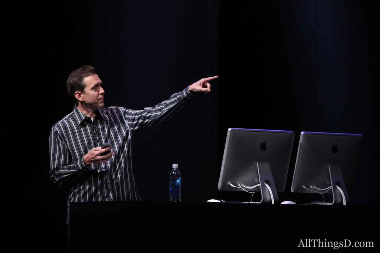 Scott Forstall then took the stage to demo the new Apple-created Maps application.