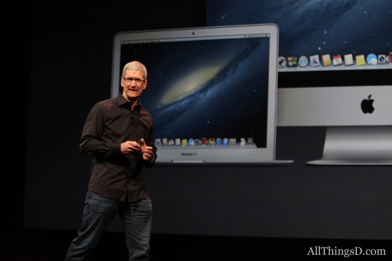 "Apple CEO Tim Cook: ""It's an amazing time at Apple."""