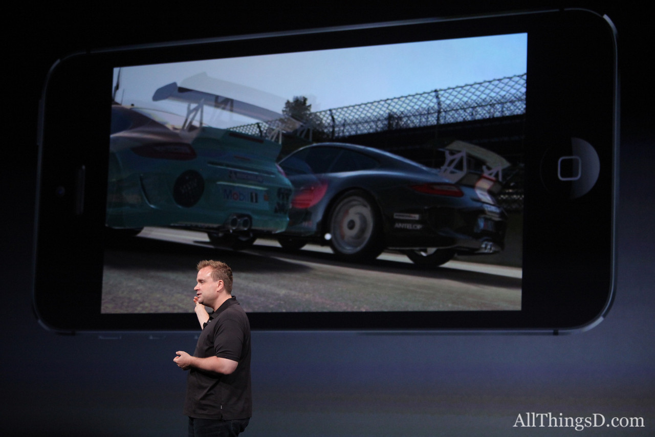 """""""The new iPhone lets us take this to a whole new level,"""" Electronic Arts Studios Executive Producer Rob Murray said."""