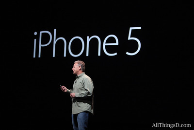 "Schiller: ""Today we are going to introduce iPhone 5."""