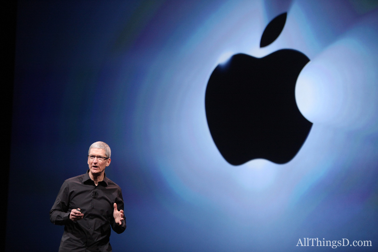 """Apple has never been stronger,"" Cook said as he returned to the stage to introduce a musical guest..."