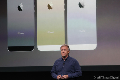 "As expected, the 5S will be available in three colors: ""space gray,"" gold and silver."