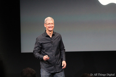 Naturally, the event began with Apple CEO Tim Cook.