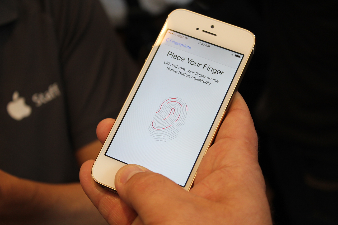It takes the sensor multiple touches to build a full picture of one's fingerprint.