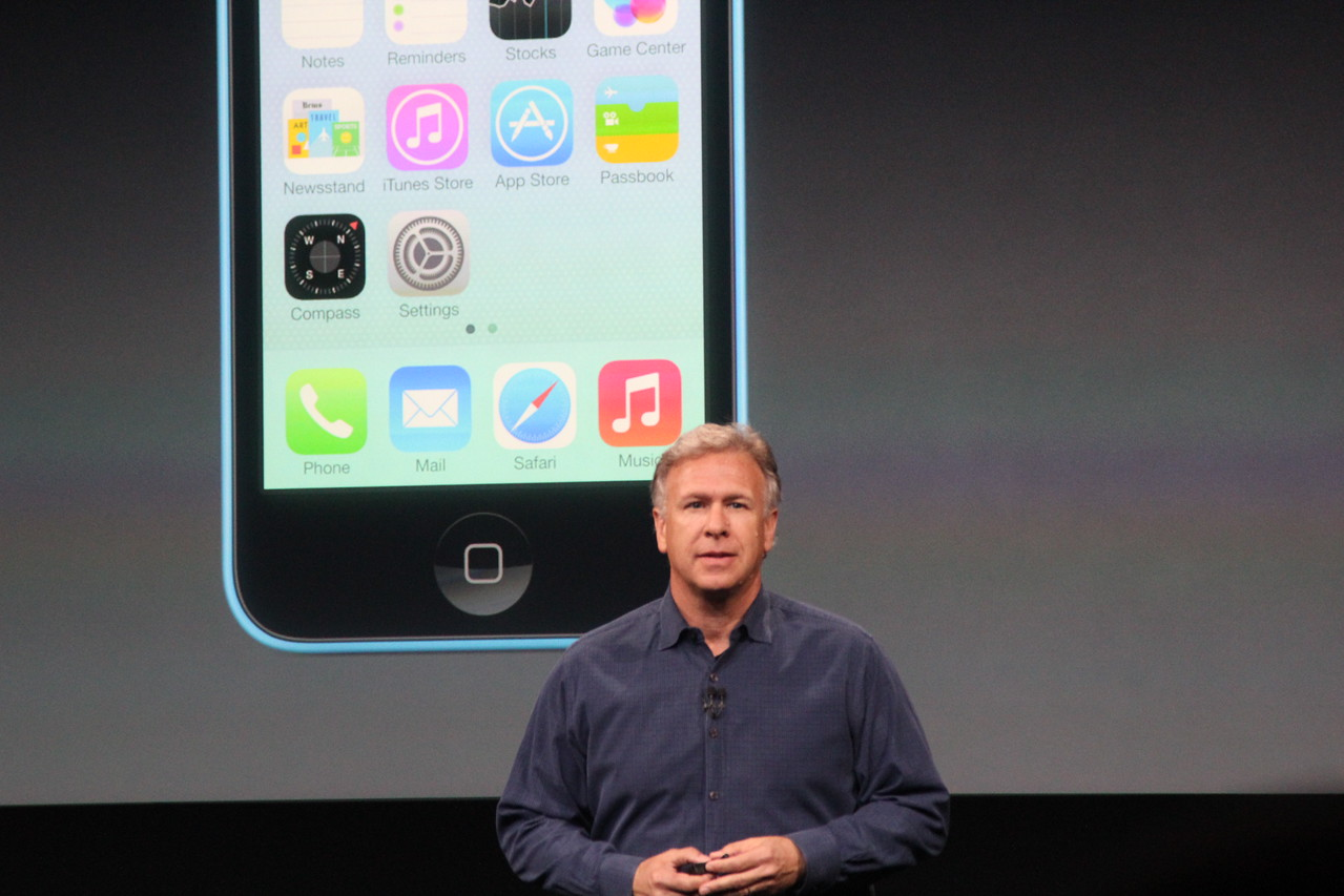Schiller then transitioned to the other new device to be announced...
