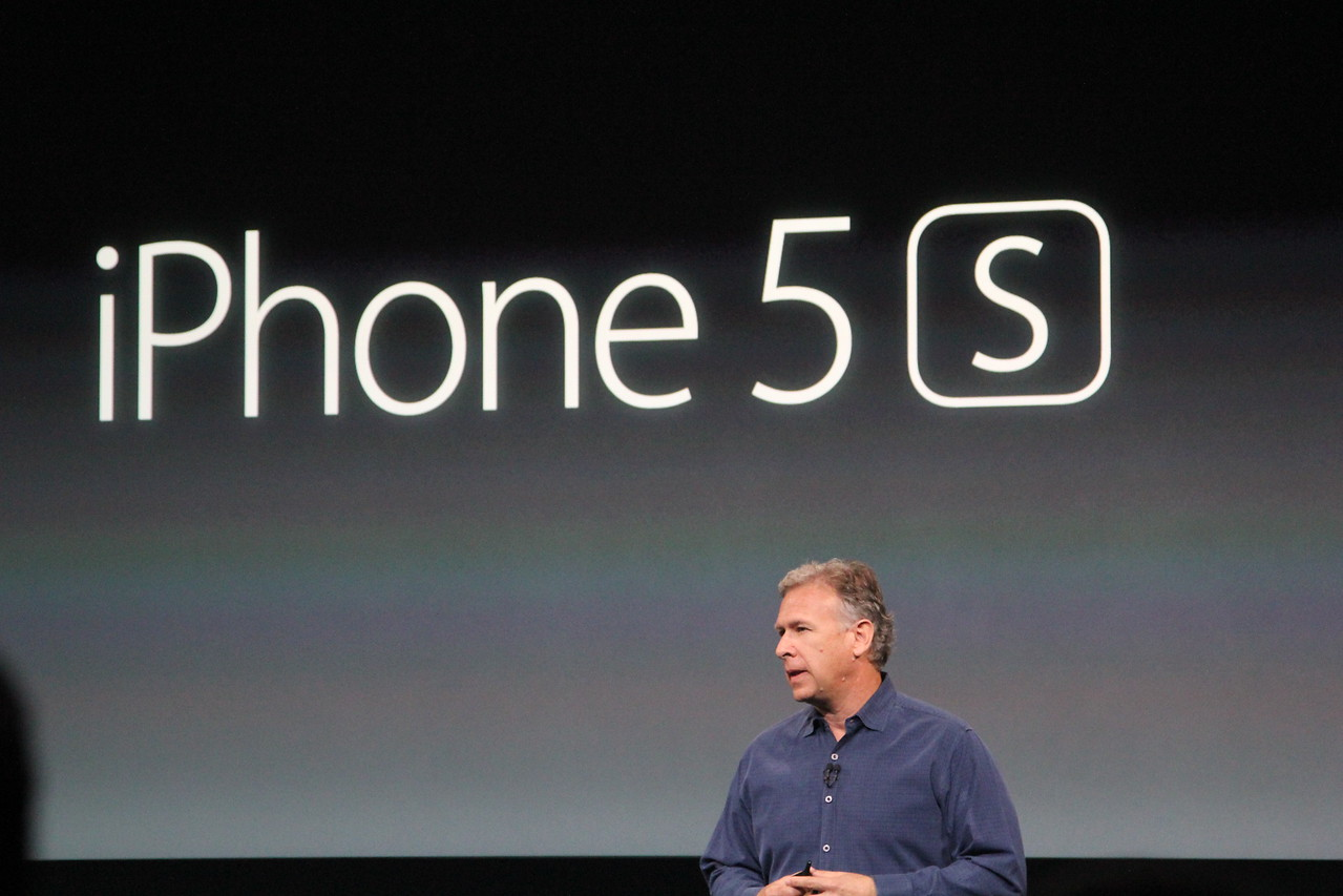 ... The iPhone 5S, which is aimed at the middle-to-higher end of the market.