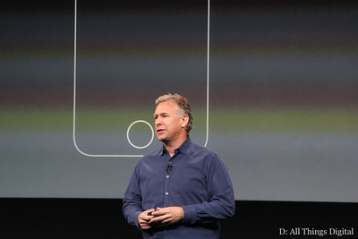 ... to SVP of marketing Phil Schiller.