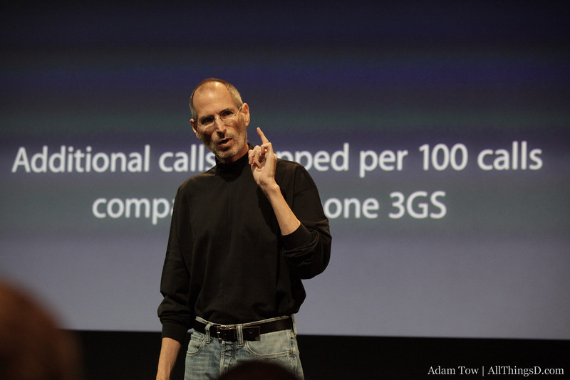 Steve Jobs addresses the iPhone 4 antenna issue.