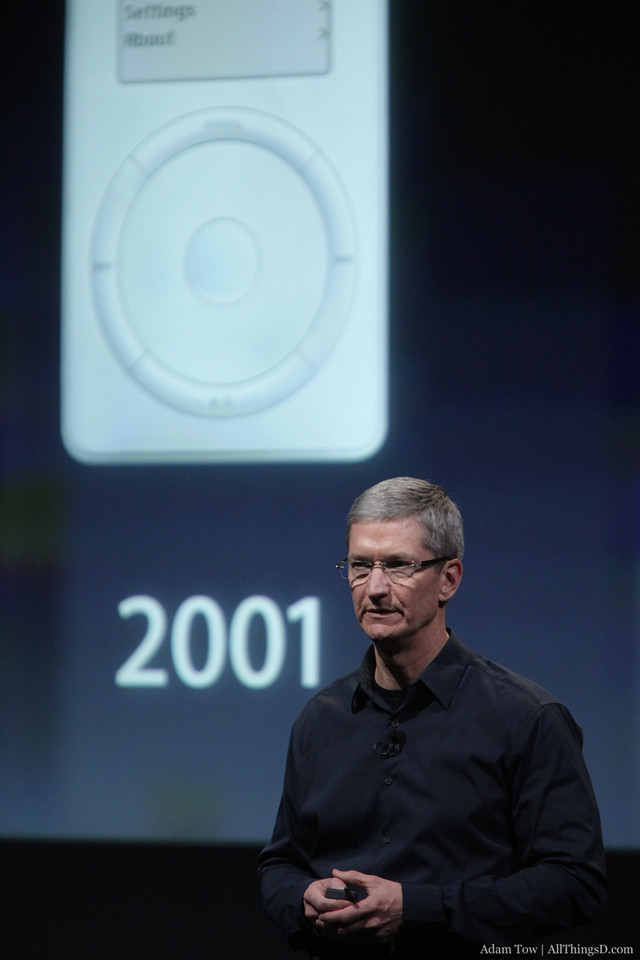 It's been 10 years since the original iPod was released.
