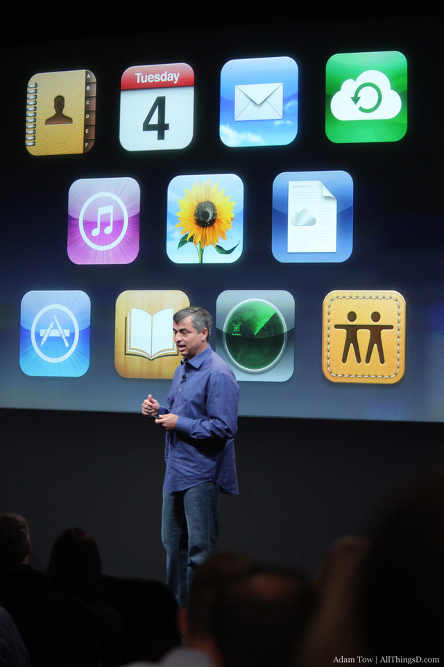 iOS applications that support iCloud.