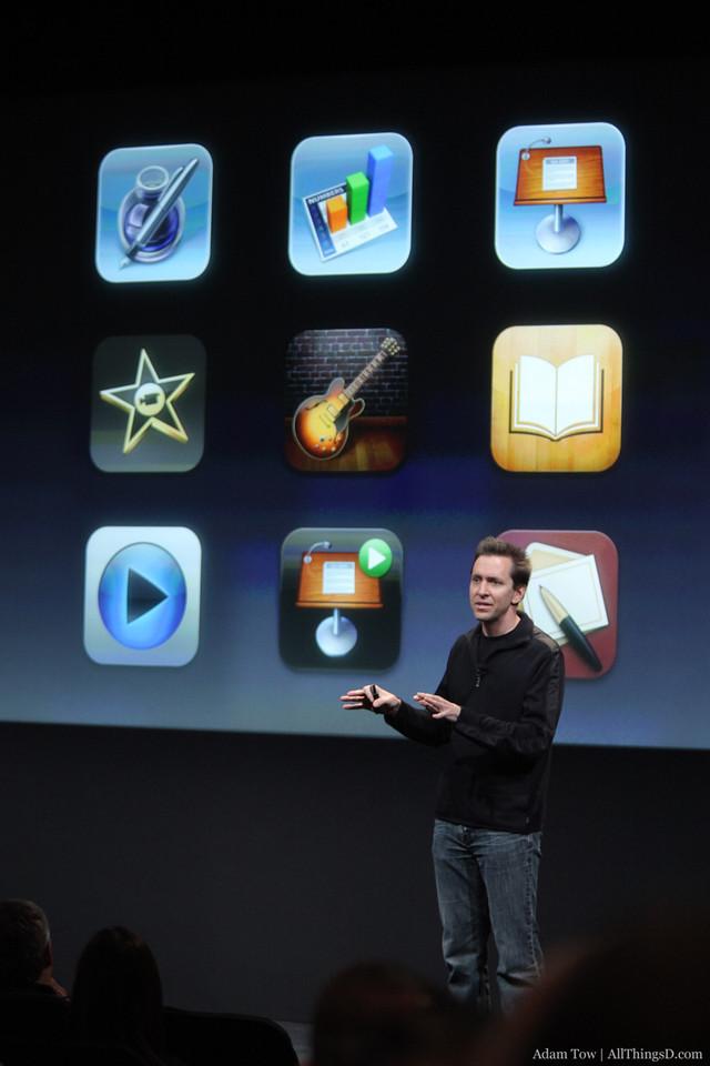iOS applications.