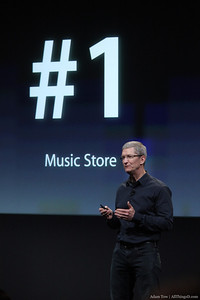 The No. 1 music store is the iTunes Music Store.