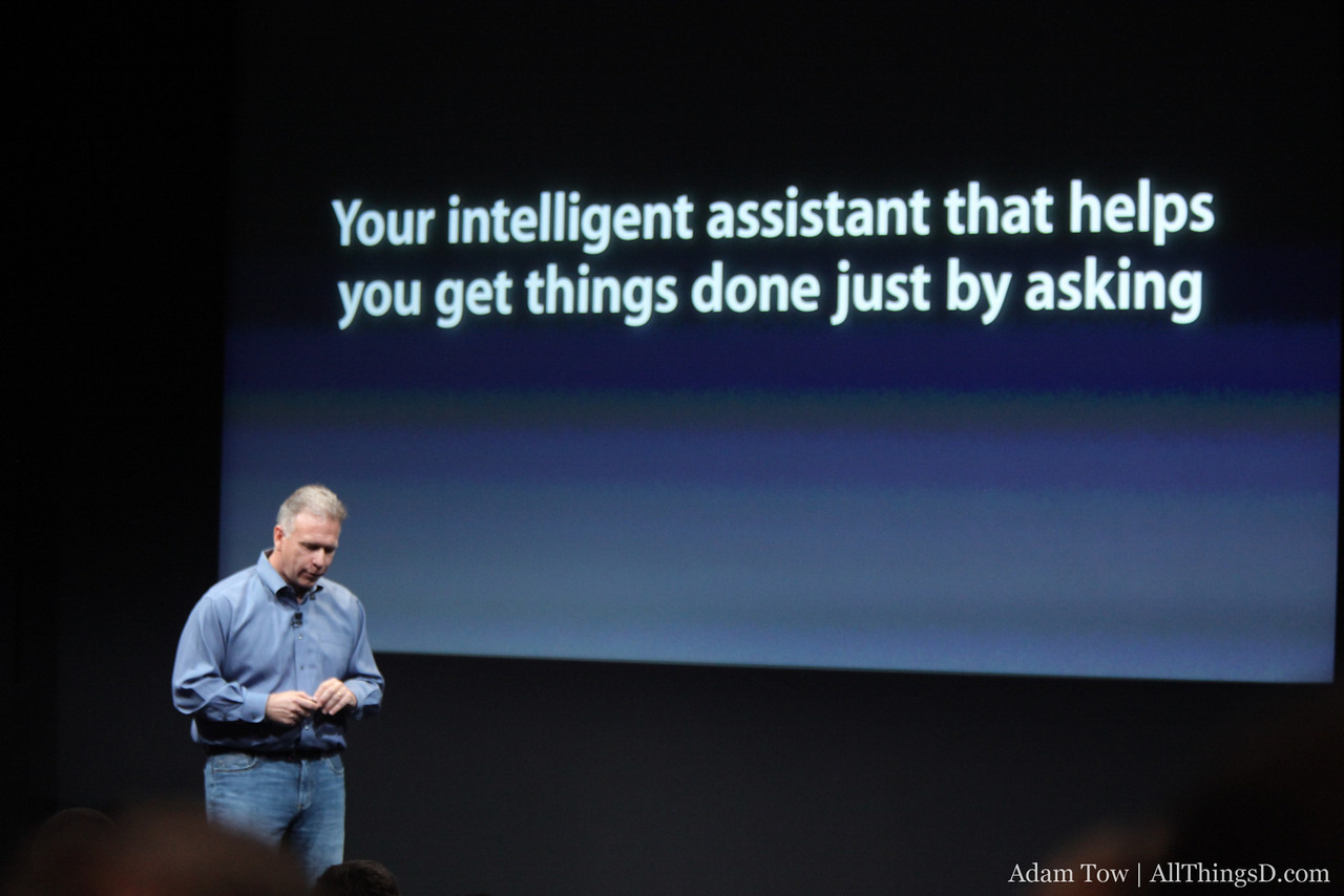 Siri is an intelligent assistant.