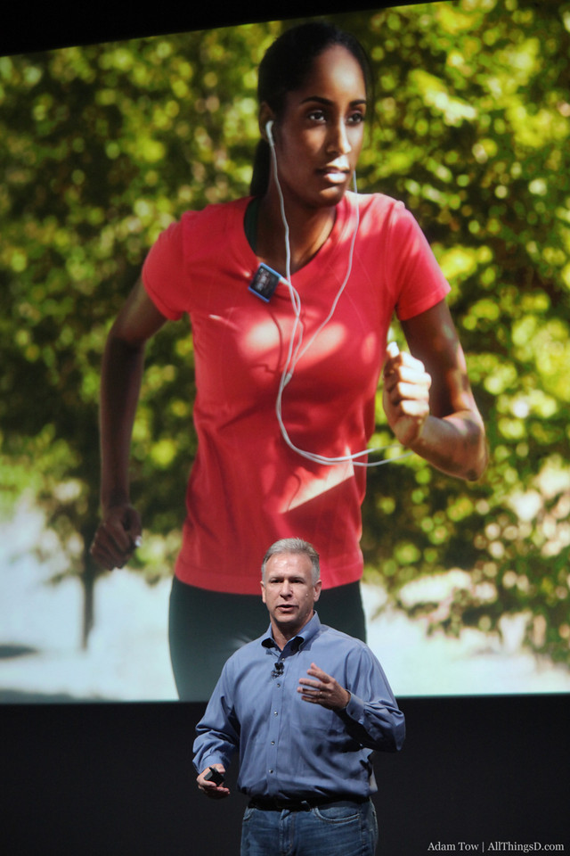 Fitness improvements with iPod+Nike.