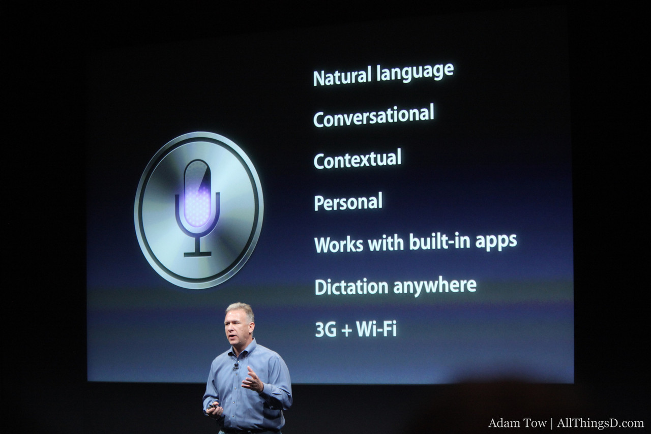 Siri bullet points.
