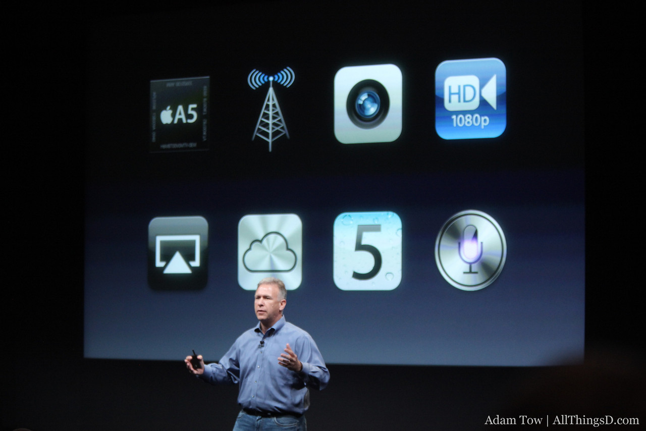 New features of the iPhone 4S.