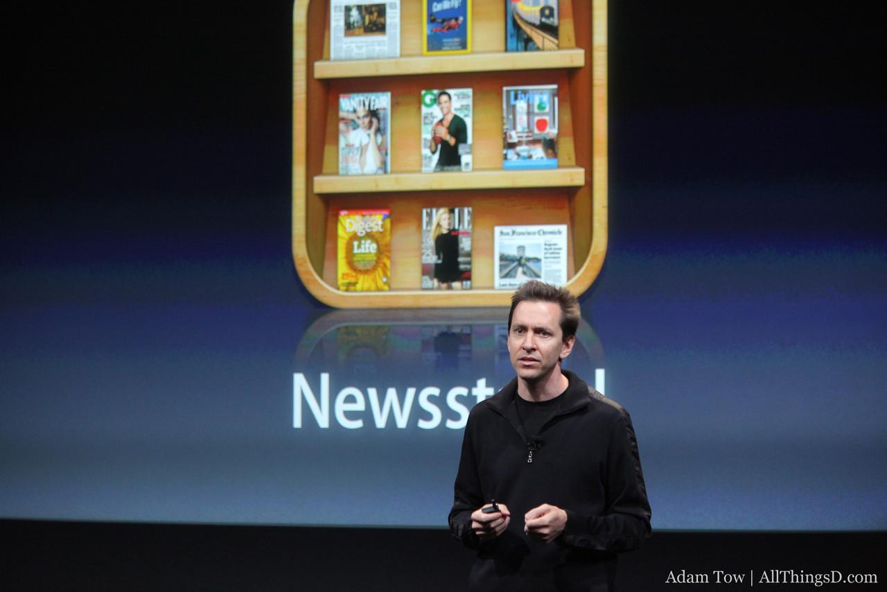 Scott talks briefly about Newsstand.