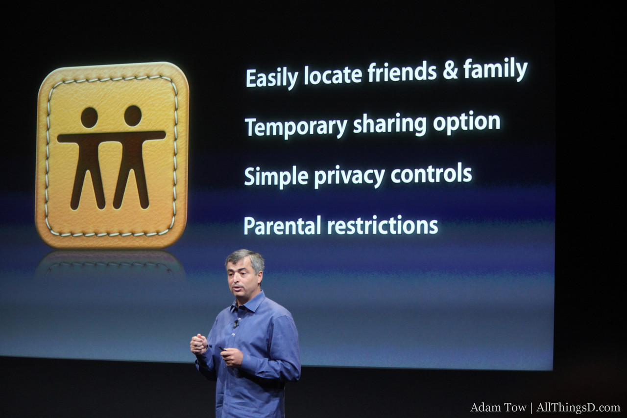 Overview of the new Find My Friends feature.