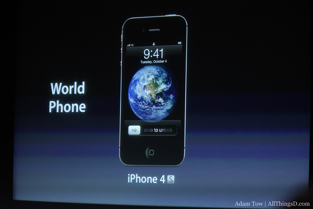 The iPhone 4S is a world phone.