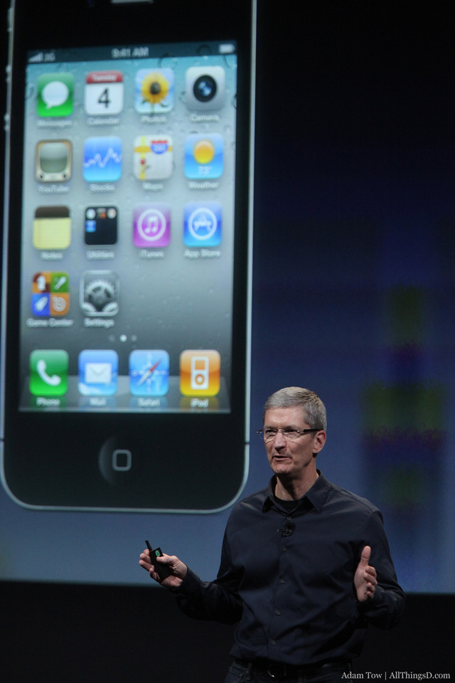 Let's talk briefly about the iPhone.