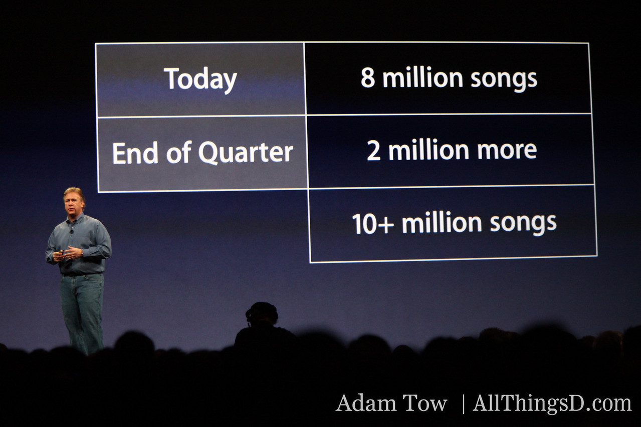 All songs will be DRM-free by the end of next quarter.