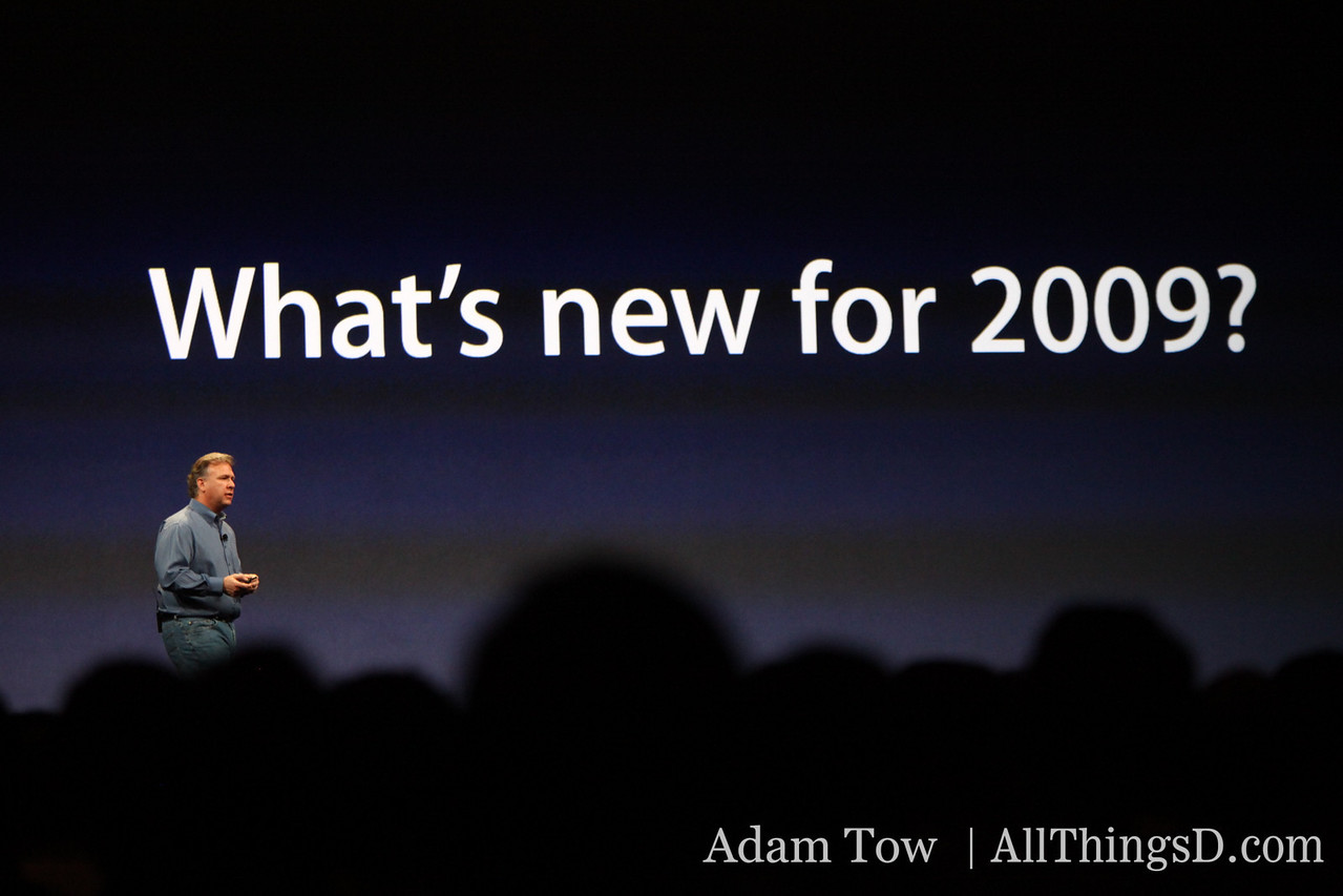 What else does Apple have in store for 2009?