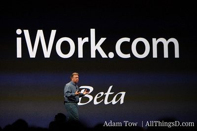 Phil introduces iWork.com